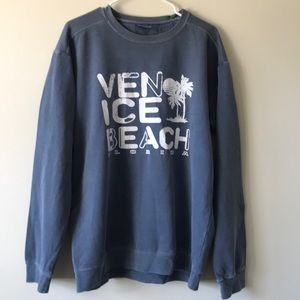 Venice Beach Florida Crew Neck Sweatshirt
